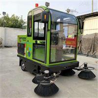 出售多功能電動清掃車全封閉駕駛室掃地機